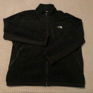 The North Face Sherpa Black Full Zip Sweatshirt